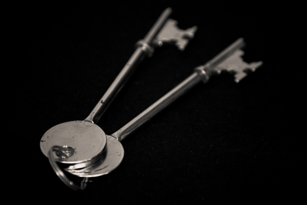 """Day 161 - Keys"" by Iain Watson"