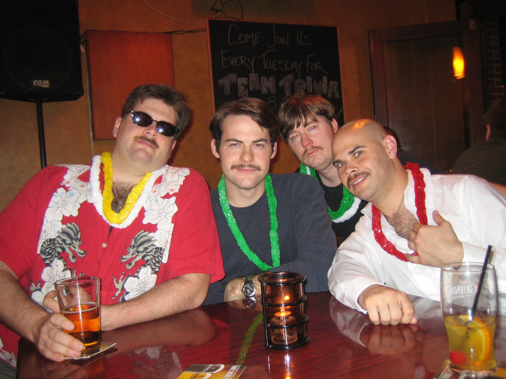 'Stache Bash (April Fools)