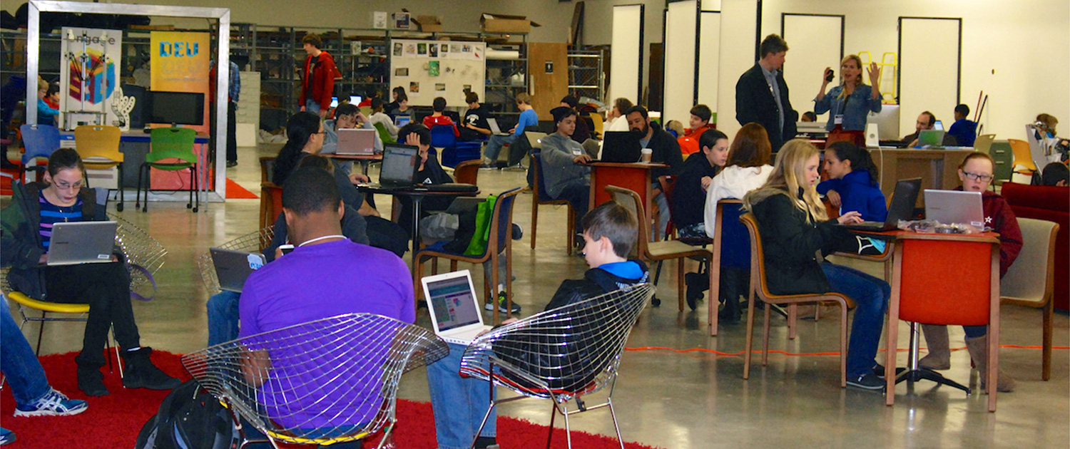 Hour of Code at Chattanooga Public Library