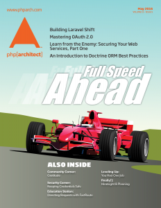 php[architect] May 2016