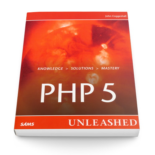Book cover for PHP 5 Unleashed