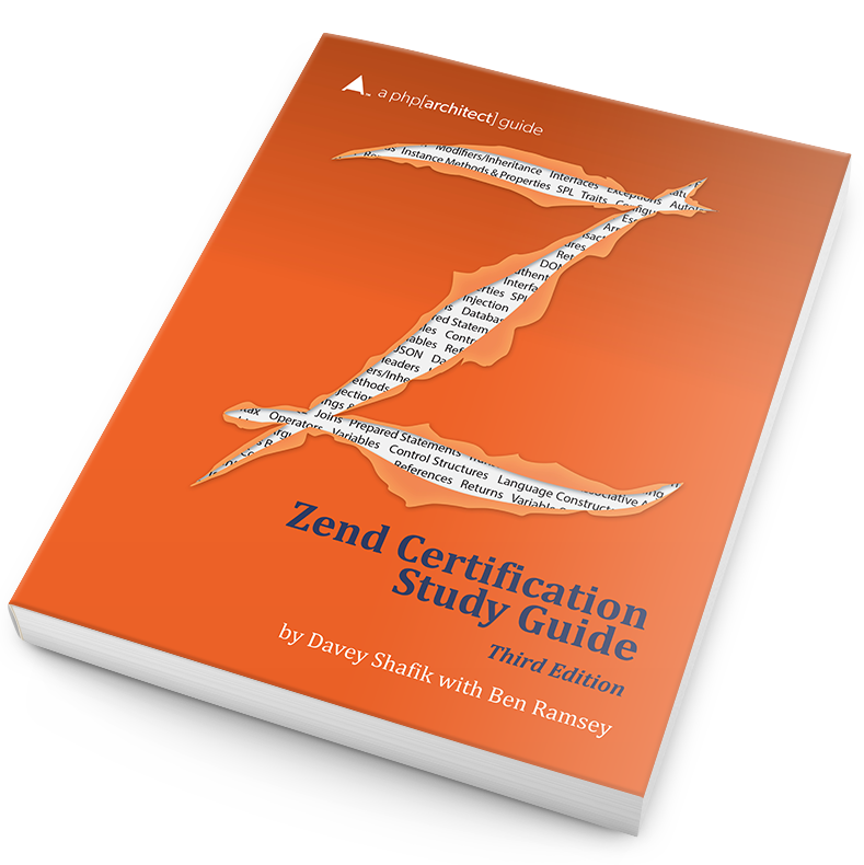 Book cover for Zend Certification Study Guide