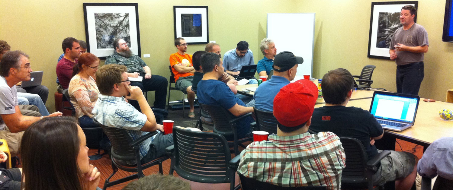 Nashville PHP user group meeting at ESpaces